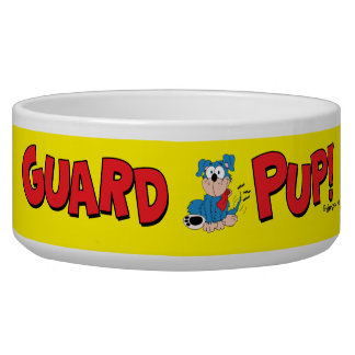 Guard Pup Pet Bowl