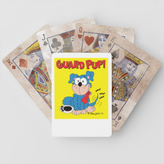 Guard Puppy Deck of Cards