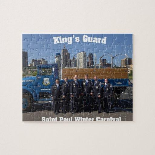 Guard Puzzle de rey