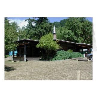 Guard Station near Powers Oregon Card