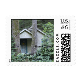 Guard Station Three Pools Postage Stamps