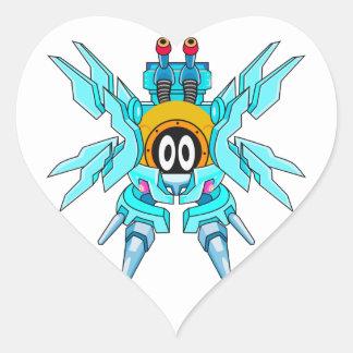 Guard Suit Valkgust Heart Sticker