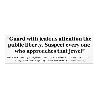 Guard with Jealous Attention the Public LIBERTY Photographic Print