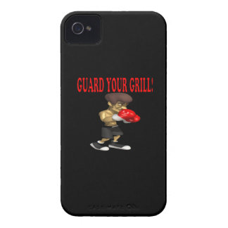 Guard Your Grill 2 iPhone 4 Case-Mate Cases