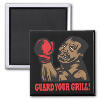 Guard Your Grill 2 Inch Square Magnet