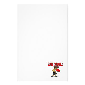 Guard Your Grill 2 Personalized Stationery