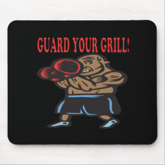 Guard Your Grill 3 Mouse Pad