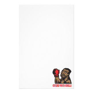Guard Your Grill Personalized Stationery