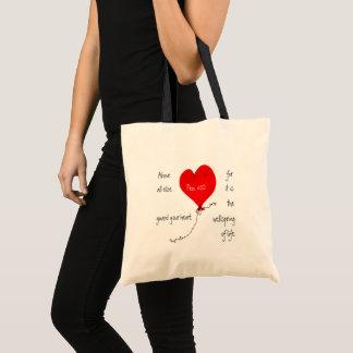 Guard Your Heart Christian Bag