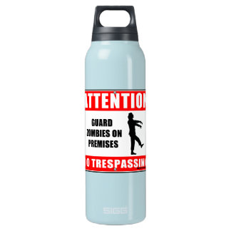 Guard Zombies Insulated Water Bottle