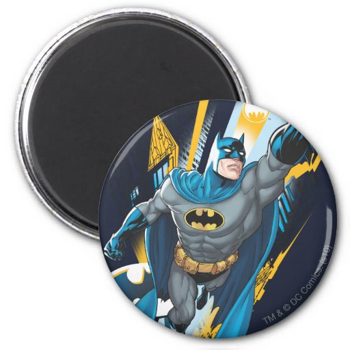Guarda de Batman Gotham Imán Redondo 5 Cm