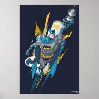 Guarda de Batman Gotham Poster