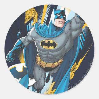 Guarda de Batman Gotham Pegatina Redonda