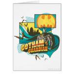Guarda de Gotham Tarjeta De Felicitación