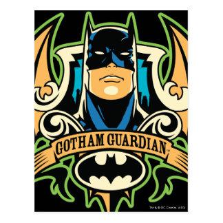 Guarda de Gotham Tarjetas Postales
