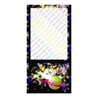 Guarda de la galaxia tarjeta con foto personalizada