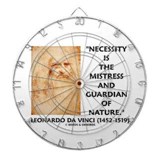 guarda de la señora de la necesidad de da Vinci de Tablero De Dardos