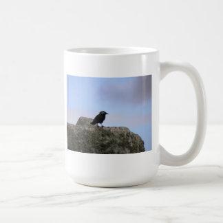 Guarda del cuervo de Henge de piedra Tazas De Café