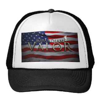 Guarda del gorra del camionero del valor