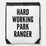 Guarda del parque de trabajo duro mochilas