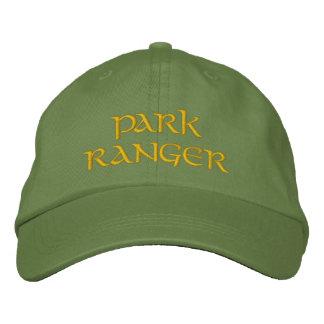 Guarda del parque gorra de beisbol bordada