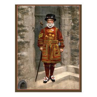 guarda del terrateniente de Londres de los 1890s, Postales