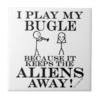 Guarda el bugle ausente de los extranjeros tejas  cerámicas
