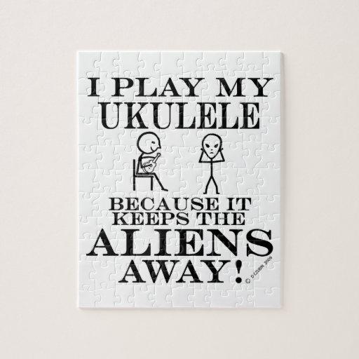 Guarda el Ukulele ausente de los extranjeros Puzzle