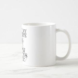 Guarda la gaita ausente de los extranjeros taza de café
