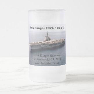 GUARDABOSQUES DE USS (CV-4) TAZA DE CAFÉ