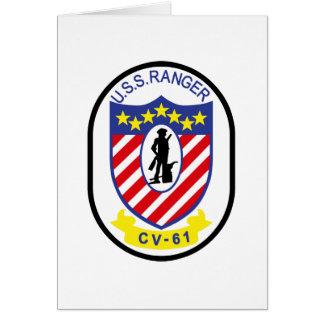 Guardabosques de USS (CV-61) Felicitaciones