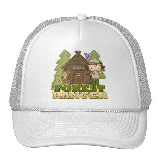 Guardabosques del bosque - chica trigueno gorra