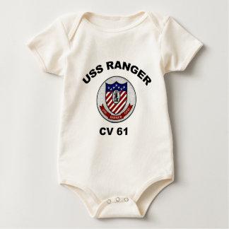 Guardabosques del CV 61 Body Para Bebé