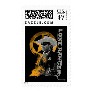 Guardabosques solitario 4 timbres postales