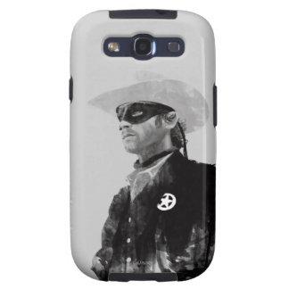 Guardabosques solitario Juan Reid - blanco y negro Samsung Galaxy S3 Carcasa