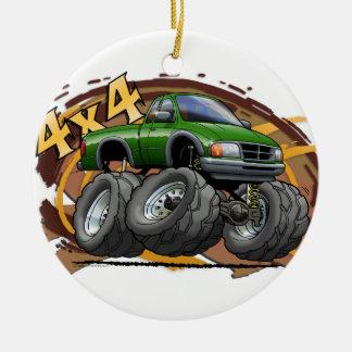 Guardabosques verde ornamento de navidad