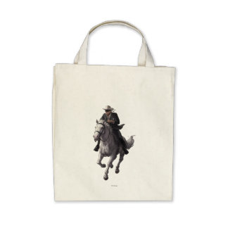 Guardabosques y plata solitarios bolsas de mano