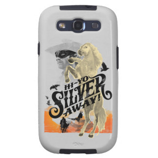 ¡Guardabosques y plata solitarios - hola - plata d Samsung Galaxy S3 Protector