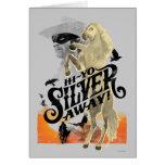 ¡Guardabosques y plata solitarios - hola - plata d Felicitacion