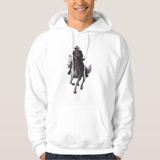 Guardabosques y plata solitarios pulóver con capucha