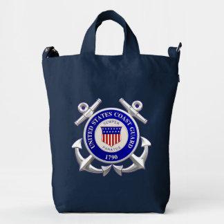 Guardacostas de Estados Unidos Bolsa De Lona Duck