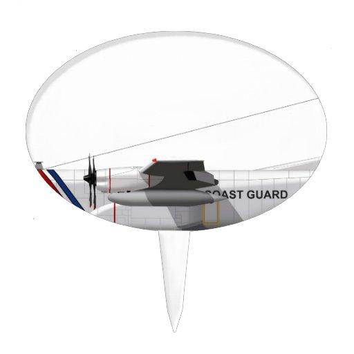 Guardacostas de Lockheed HC-130 Hércules Figuras De Tarta