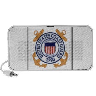 Guardacostas de los E.E.U.U. Emblem1 iPhone Altavoz