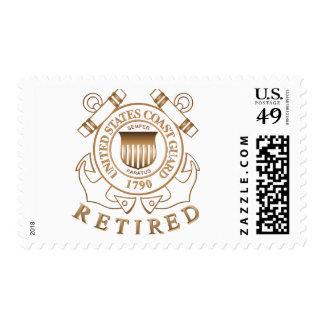 Guardacostas jubilado sellos postales