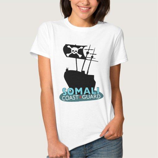 Guardacostas somalí t-shirt