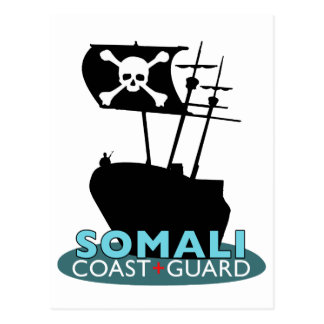 Guardacostas somalí tarjetas postales