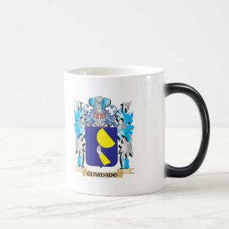 Guardado Coat of Arms - Family Crest 11 Oz Magic Heat Color-Changing Coffee Mug