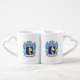 Guardado Coat of Arms - Family Crest Couples' Coffee Mug Set