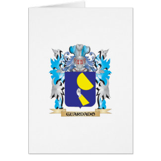 Guardado Coat of Arms - Family Crest Greeting Card