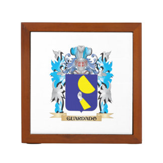 Guardado Coat of Arms - Family Crest Pencil Holder